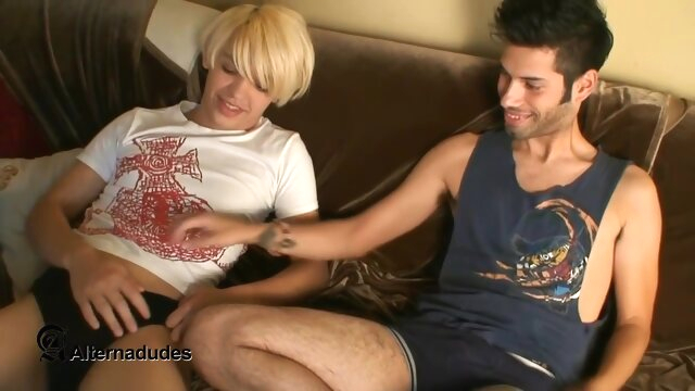 Brandon and Adam Moon.. blonde gay cumshot videos