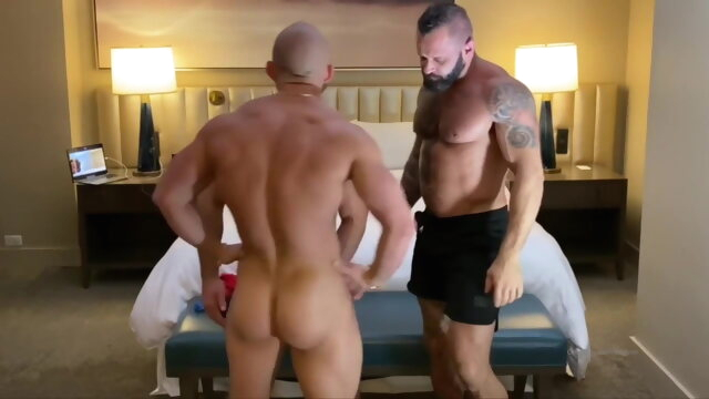 Travis Dyson and Tank.. bareback gay big cock videos