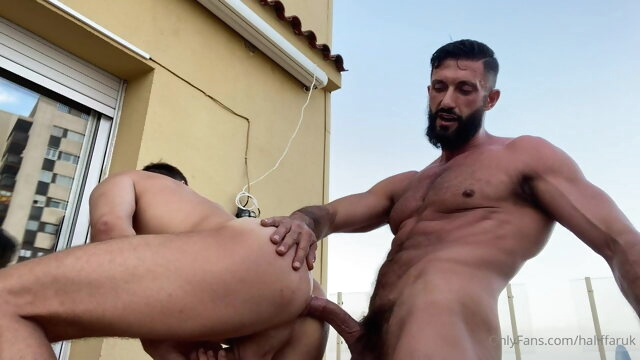 Halif Haruk and Indiboy bareback gay big cock videos