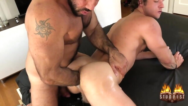 double fisting big cock gay fisting videos