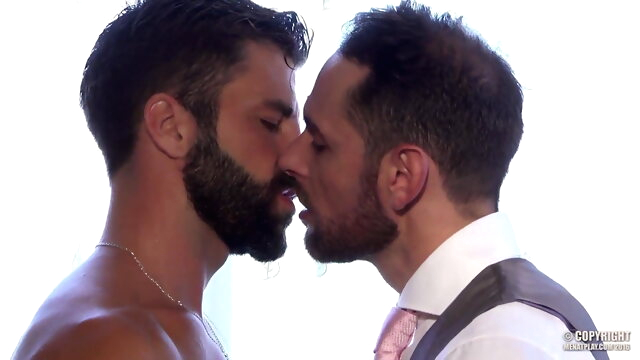 MAP - Prenuptial big cock gay blowjob videos