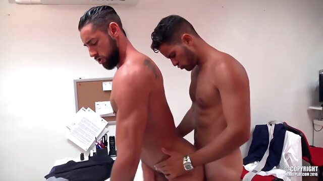 White Lie brunette gay hd videos