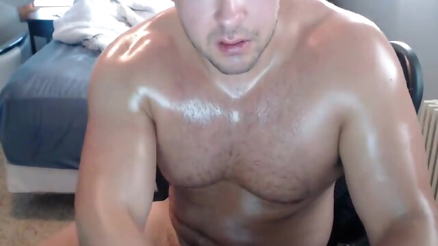 Muscle Jock Furiously.. amateur gay brunette videos