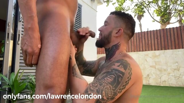 Lawrence London -.. big cock gay cumshot videos