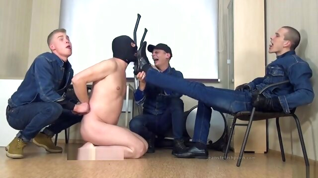 3 russian masters in.. blowjob gay fetish videos
