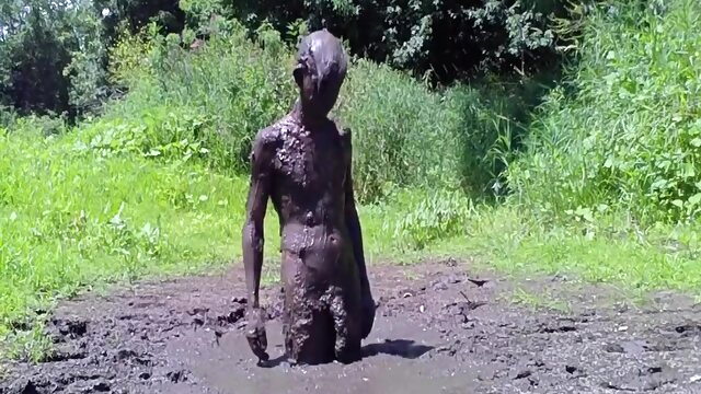 Mud Bath fetish gay  videos