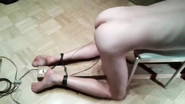 Electric Torture cock.. bdsm gay cbt videos