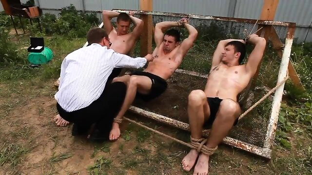 Trap For Escaped.. bdsm gay fetish videos