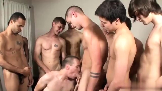 Men milking cumshot.. blowjob gay gangbang videos
