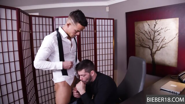 He is eager to suck up.. gay gay big dick videos